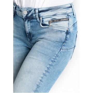 Miracle of Denim Jeans 'Eva' in blue denim