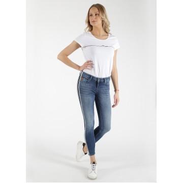 Miracle of Denim Jeans 'Sina' in blue denim
