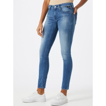 REPLAY Jeans 'New Luz' in blue denim