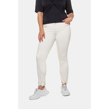 Ulla Popken Jeans ' Sarah ' in weiß