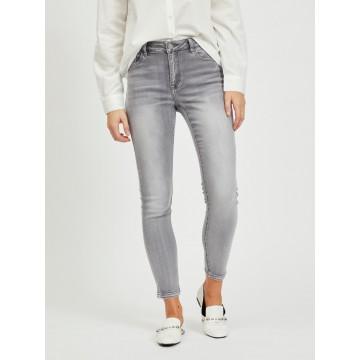 VILA Jeans 'VIEKKO' in grey denim