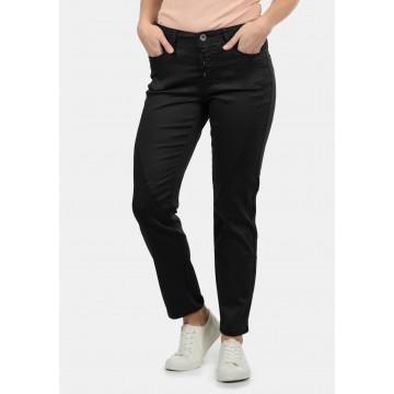 DESIRES Straight-Jeans 'Elbja' in schwarz