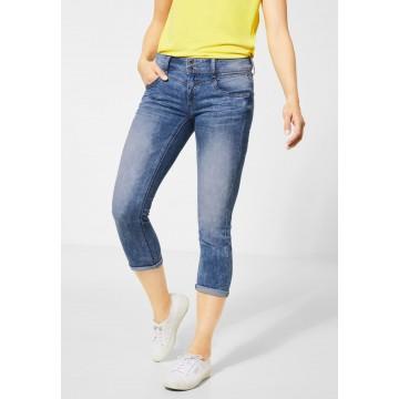 STREET ONE Jeans in blue denim