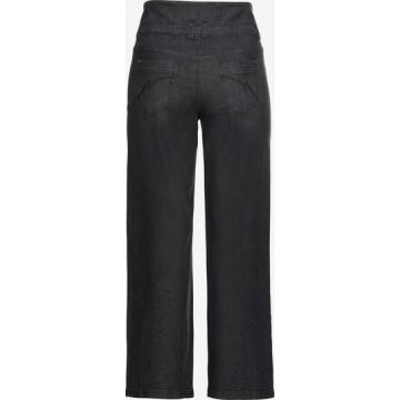 SHEEGO Jeans in black denim