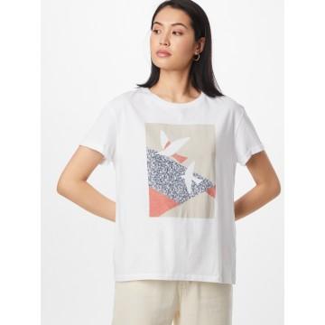 ARMEDANGELS Shirt 'NAALIN PRIMROSE DOVES' in dunkelblau / grau / pastellrot / weiß