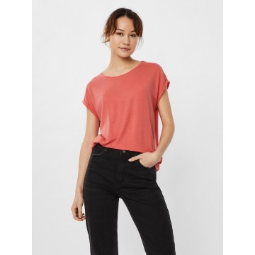 AWARE by Vero Moda T-Shirt 'Ava' in koralle
