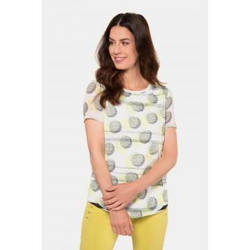 Gina Laura Gina Laura Damen T-Shirt in gelb