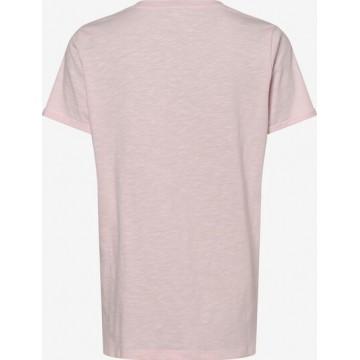 Marie Lund T-Shirt in pinkmeliert / rot / schwarz