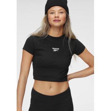 Reebok Classic T-Shirt in schwarz / weiß
