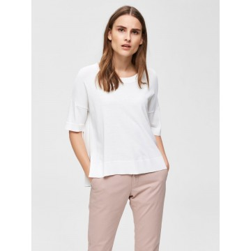 SELECTED FEMME T-Shirt in weiß