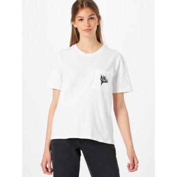 The Kooples T-Shirt in schwarz / weiß