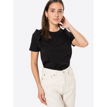 UNITED COLORS OF BENETTON T-Shirt in schwarz