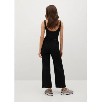 MANGO Jeans 'Catherin' in schwarz