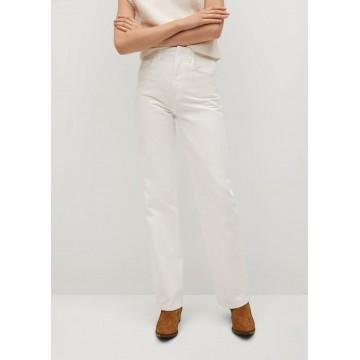 MANGO Jeans 'Lola' in white denim
