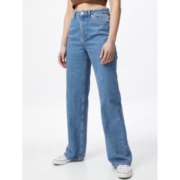 NA-KD Jeans in blue denim