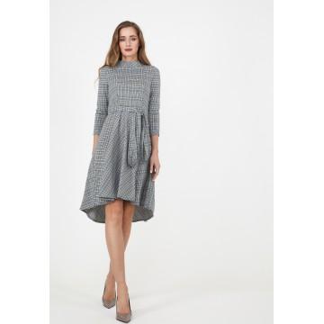 Madam-T Kleid in grau