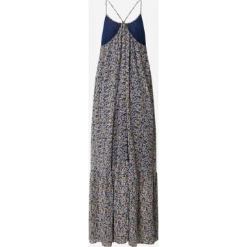Samsoe Samsoe Kleid 'Como long dress aop 6621' in mischfarben