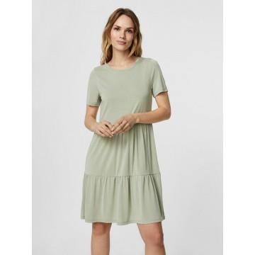 VERO MODA Kleid in grün