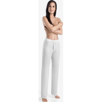 Hanro Loungehose ' Cotton Deluxe ' in weiß