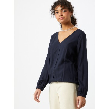 EDC BY ESPRIT Bluse in navy