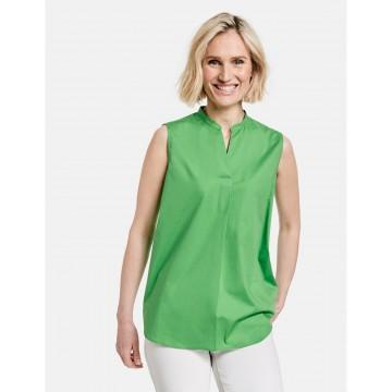GERRY WEBER Ärmellose Bluse in grün