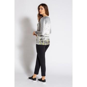 Gina Laura Shirt '748130' in grau