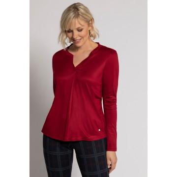 Gina Laura Shirt in dunkelrot