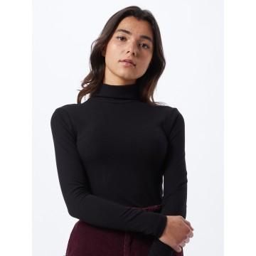 PIECES Pullover in schwarz