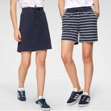 FLASHLIGHTS Shorts inklusive Rock in blau / weiß
