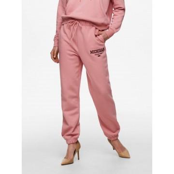 ONLY Hose in rosé / burgunder