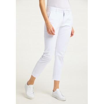 DreiMaster Maritim Hose in weiß