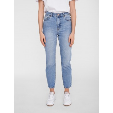 Noisy may Mom Jeans 'Isabel' in blue denim