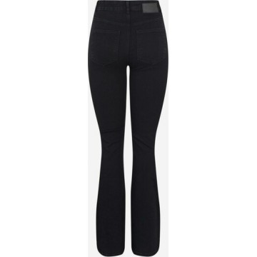 PIECES Jeans 'PEGGY' in schwarz