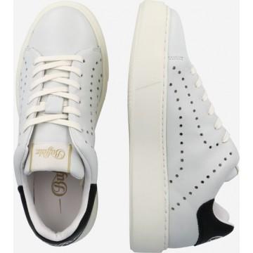 BUFFALO Sneaker 'ROCCO' in schwarz / weiß