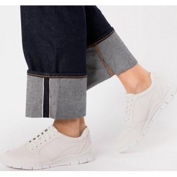 GEOX Sneaker 'Sukie' in weiß