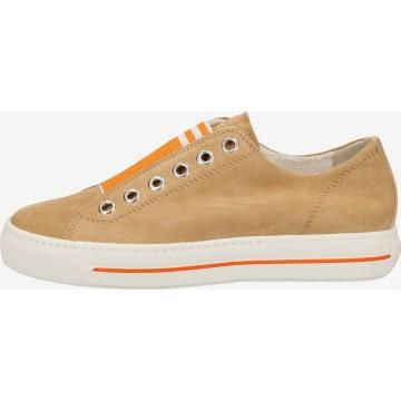Paul Green Sneaker in braun / dunkelorange
