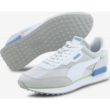 PUMA Sneaker in hellblau / grau / weiß