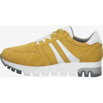TAMARIS Sneaker in senf / weiß