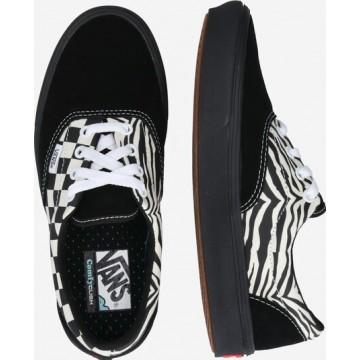 VANS Sneaker 'UA ComfyCush Era' in schwarz / weiß