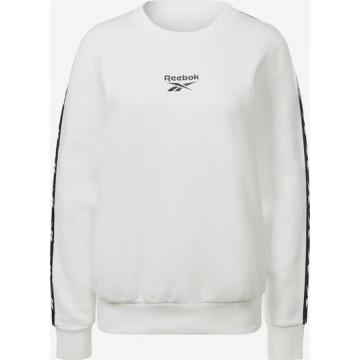 REEBOK Sweatshirt in schwarz / weiß