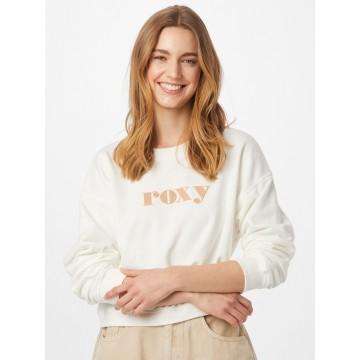 ROXY Sweatshirt 'BREAK AWAY' in beige / weiß