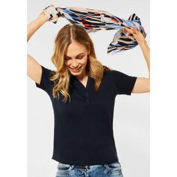 CECIL Shirt in dunkelblau