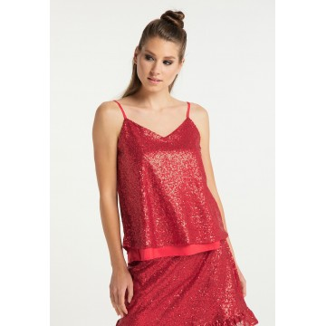 myMo at night Top in rot