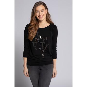 Gina Laura Shirt in schwarz