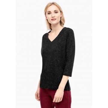s.Oliver Shirt in schwarz