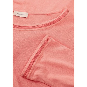 TRIANGLE T-Shirt in pink
