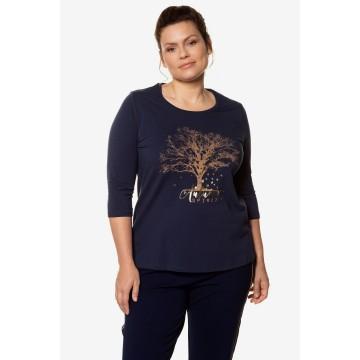 Ulla Popken Shirt in dunkelblau